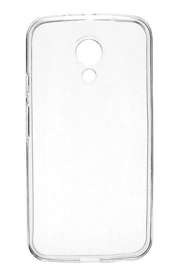 Capa de Silicone TPU Transparente para Motorola Moto G 2ª Geração