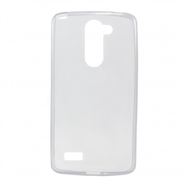 Capa de Silicone TPU Transparente para LG Prime D337