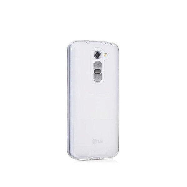 Capa de Silicone TPU Transparente para LG G2 D805