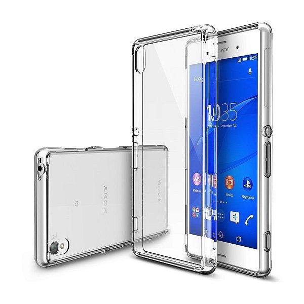 Capa de Silicone TPU Transparente para Sony Xperia Z3
