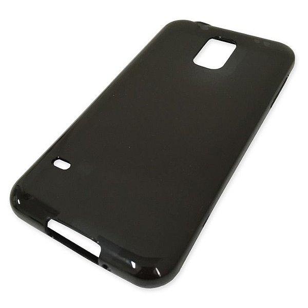 Capa de Silicone TPU Fumê para Samsung Galaxy S5 - i9600