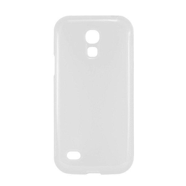 Capa de Silicone TPU Transparente para Samsung Galaxy S4 Mini i9190