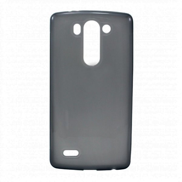 Capa de Silicone TPU Fumê para LG G3 Mini