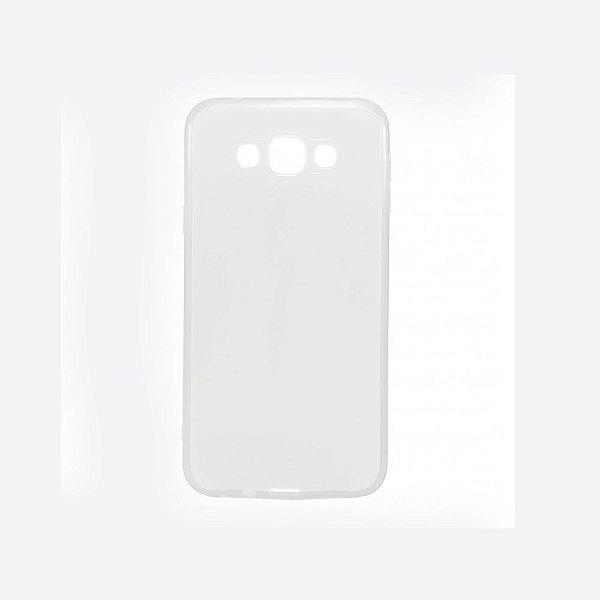 Capa de Silicone TPU Transparente para Samsung Galaxy E5