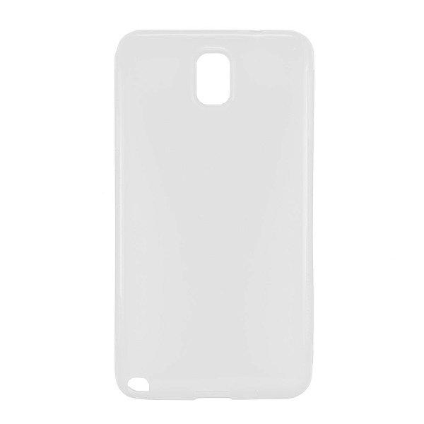 Capa de Silicone TPU Transparente para Samsung Galaxy Note 3