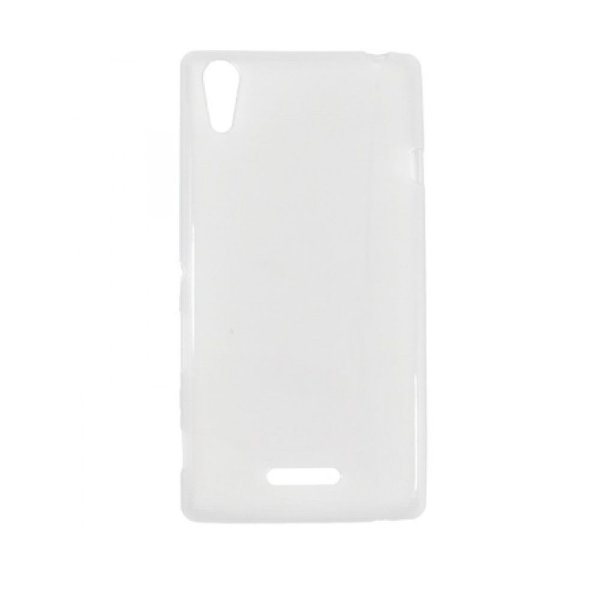 Capa de Silicone TPU Transparente para Sony Xperia T3