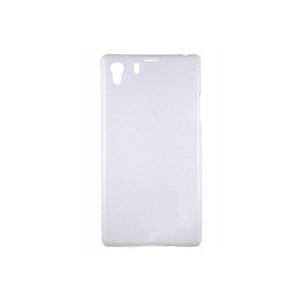 Capa de Silicone TPU Transparente para Sony Xperia Z1