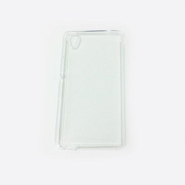Capa de Silicone TPU Transparente para Sony Xperia M4 Aqua