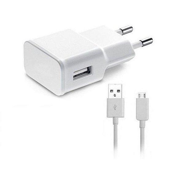 Carregador Micro USB - Branco