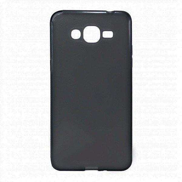 Capa de Silicone TPU Fumê para Samsung Galaxy J7
