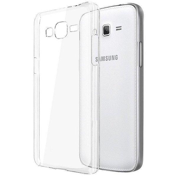 Capa de Silicone TPU Transparente para Samsung Galaxy J7