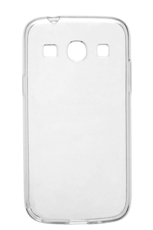 Capa de Silicone TPU Transparente para Samsung Galaxy Core Plus G3502