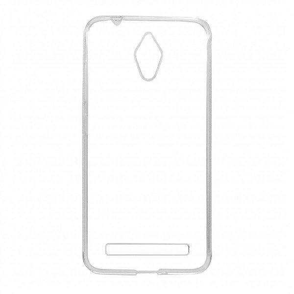 Capa de Silicone TPU Transparente para Asus Zenfone Go