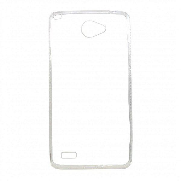 Capa de Silicone TPU Transparente para LG Prime II - X170