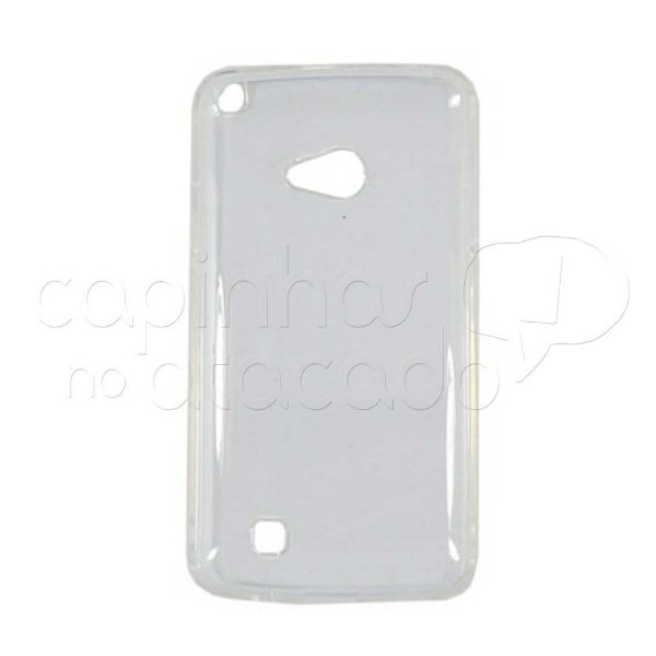 Capa de Silicone TPU Transparente para LG L50 D227