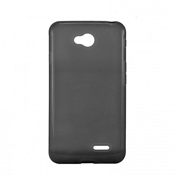 Capa de Silicone TPU Fumê para LG L70 Dual
