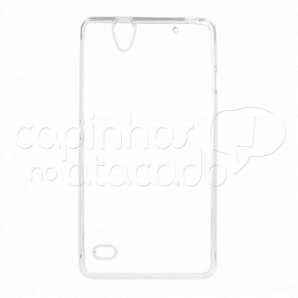 Capa de Silicone TPU Transparente para Sony Xperia C4