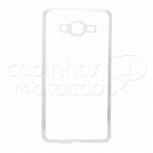 Capa de Silicone TPU Transparente para Samsung Galaxy On7