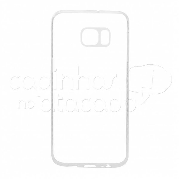 Capa de Silicone TPU Transparente para Samsung Galaxy S6 Edge Plus