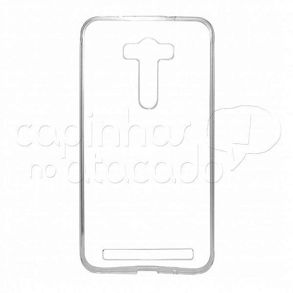 Capa de Silicone TPU Transparente para Asus Zenfone Laser