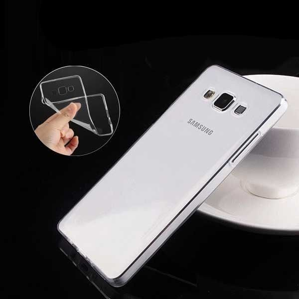 """Capinha de Silicone Ultra Fina """"Casca de Ovo"""" para Celulares da Samsung"""