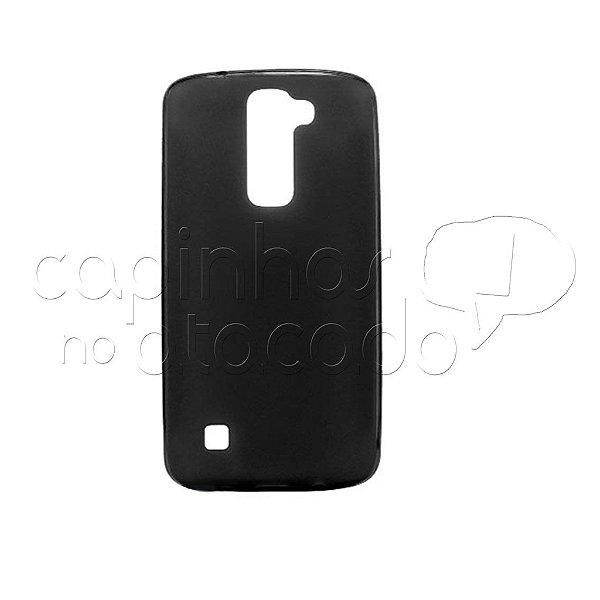 Capa de Silicone TPU Fumê para LG K10