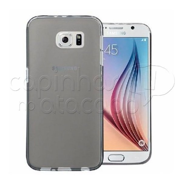 Capa de Silicone TPU Fumê para Samsung Galaxy S7 Edge