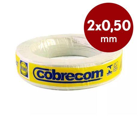 Fio paralelo 2x0,50mm Cobrecom