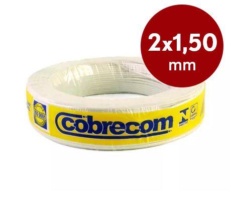 Fio paralelo 2x1,50mm Cobrecom
