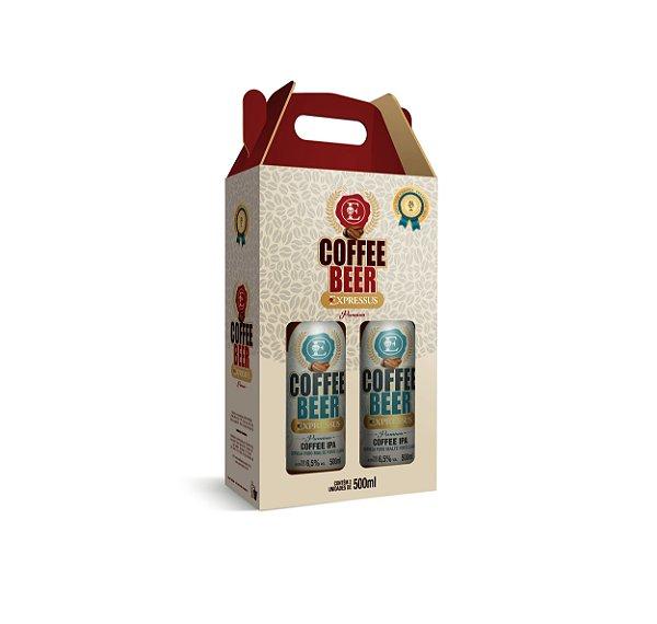 Kit c/2 Garrafas de Cerveja Artesanal Expressus Premium Coffee IPA