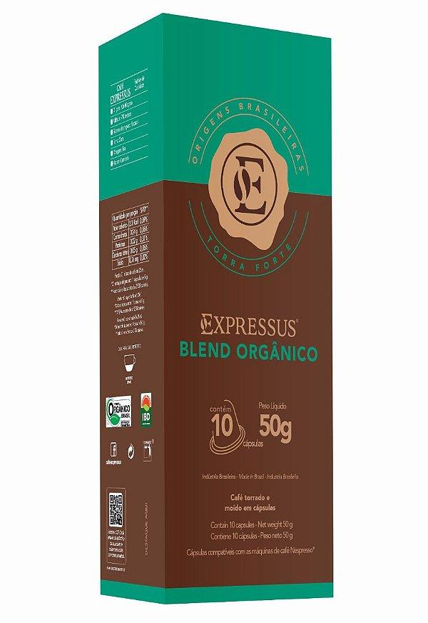 Cápsulas de Café Expressus Origens Brasileiras Blend Orgânico (Compatíveis com Máquinas Nespresso)