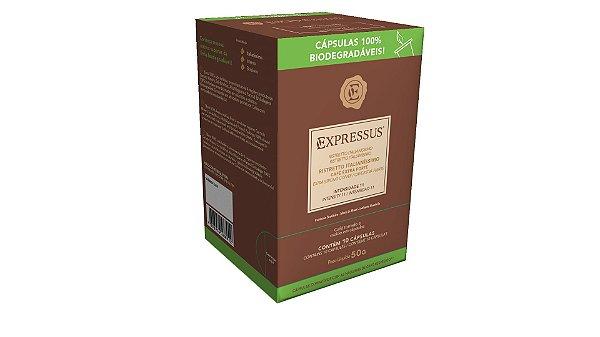 Cápsulas de Café Expressus Biodegradáveis - Ristretto Italianíssimo (Compatíveis com Máquinas Nespresso)