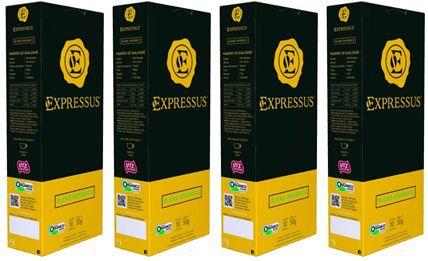 Kit C/40 Cápsulas de Café Expressus Origens Brasileiras Blend Orgânico