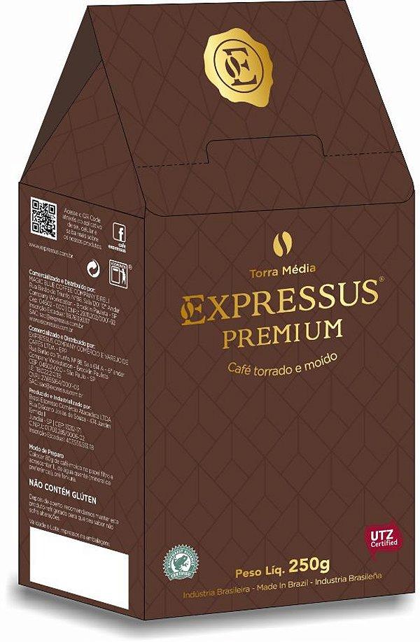 Café Expressus Torrado e Moído Premium 250g