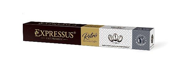 Expressus Retrô Premium - Cápsulas de Alumínio