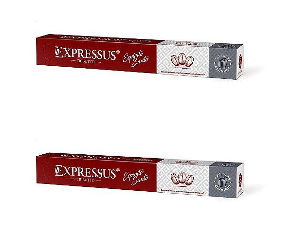 Kit C/20 Cápsulas de Café Expressus Tributto Espírito Santo - Cápsulas de Alumínio