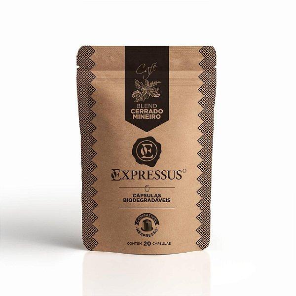 20 Cápsulas de Café Expressus Biodegradáveis Kraft Cerrado Mineiro