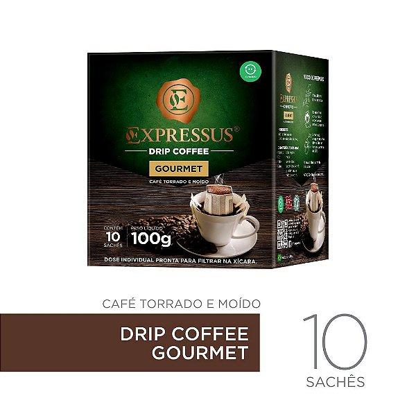 10 Sachês de Café Drip Coffee - Blend Gourmet