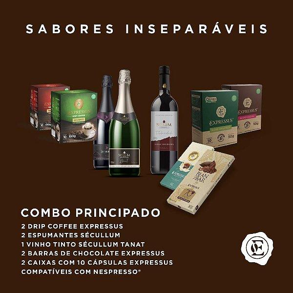 Combo Principado - Café, Espumante e Chocolate