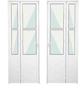 Porta Camarão com Vidro - Com fechadura - Branco