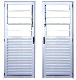 Porta Basculante - Branco
