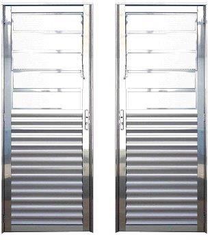 Porta Basculante - Brilhante