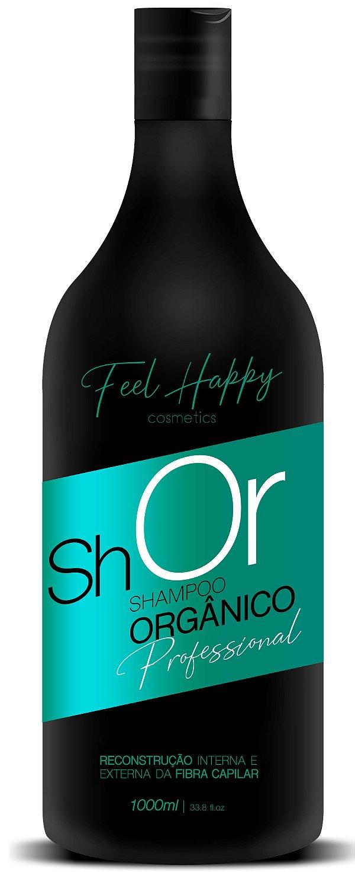 Shampoo Anti Resíduos Orgânico 1000 ml Feel Happy