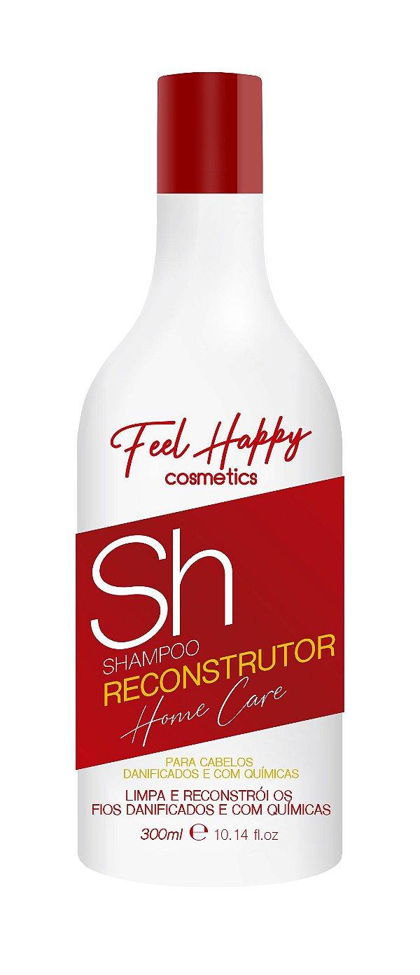 Shampoo Reconstrutor 300 ml Feel Happy