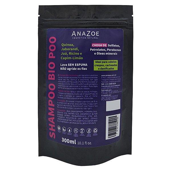 Refil Shampoo Bio Poo AnaZoe 300ml
