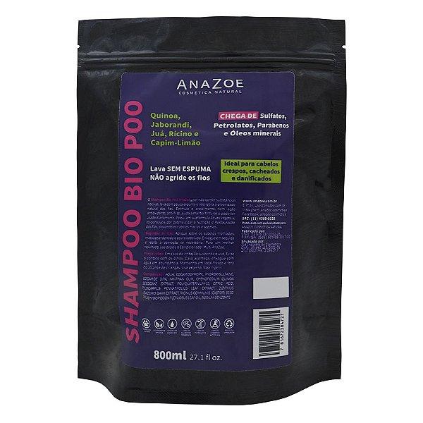 Refil Shampoo Bio Poo AnaZoe 800ml
