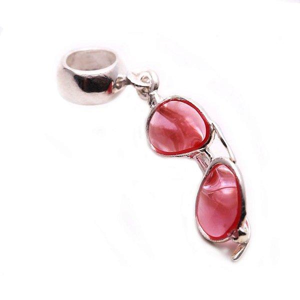 Berloque de Prata Óculos Rayban Rosa Vizaro