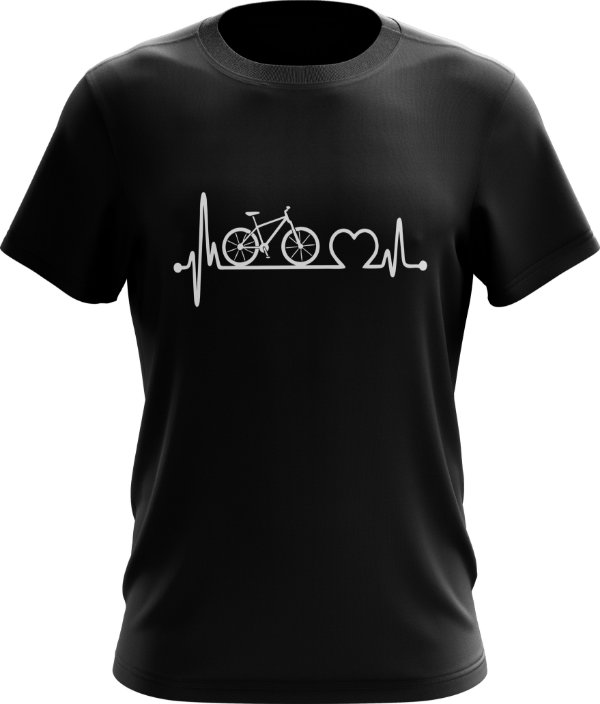 Camisa Bike Coração
