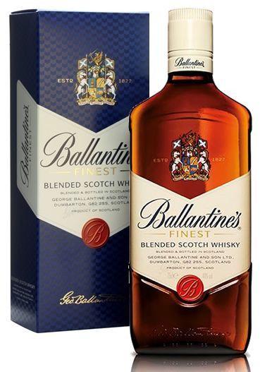 Whisky Escocês Ballantine's Finest 8 anos (1,0 Litro)