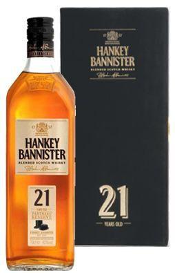 Whisky Hankey Bannister 21 anos - 700 ml